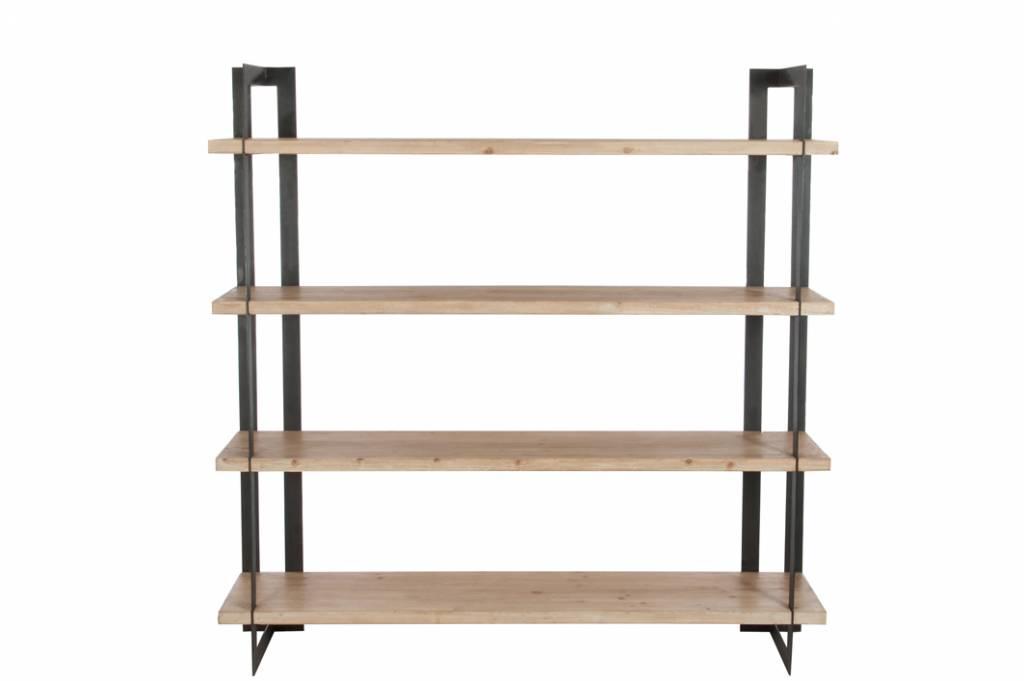 J-Line Boekenrek 4 plank modern