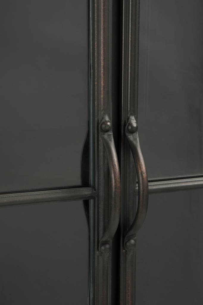 J-Line Kast metaal & glas