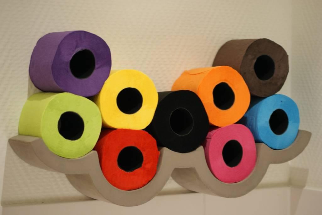 Lyon Béton Cloud S - Toilet paper holder