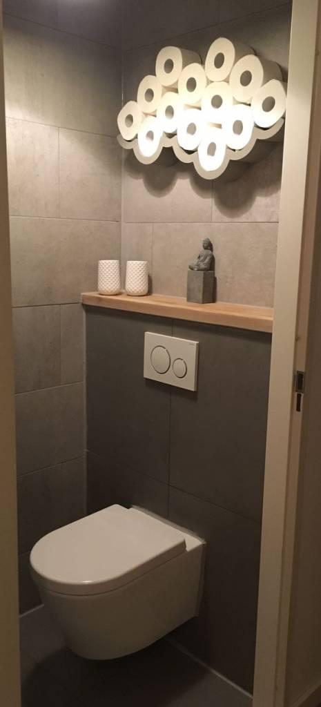 Lyon Béton Toilet roll holder Cloud Big