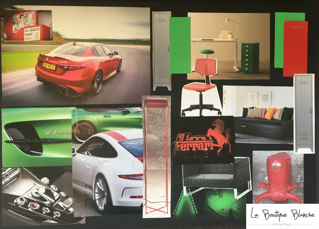 La Boutique Blanche Workshop Moodboard inspiratie