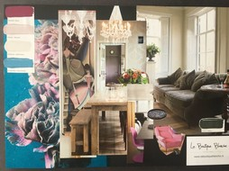 La Boutique Blanche Workshop moodboard group