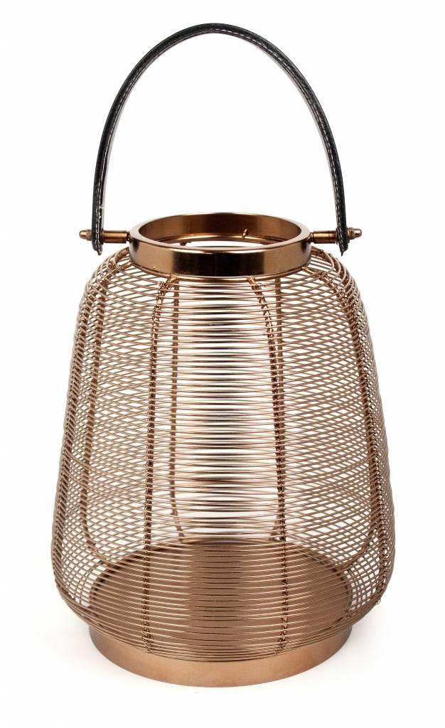 Dome Deco Windlicht koper