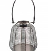 Dome Deco Huricaine Silver