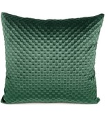 Dome Deco Dark green pillow velvet