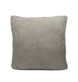 Dome Deco Knitted pillow grey & gold