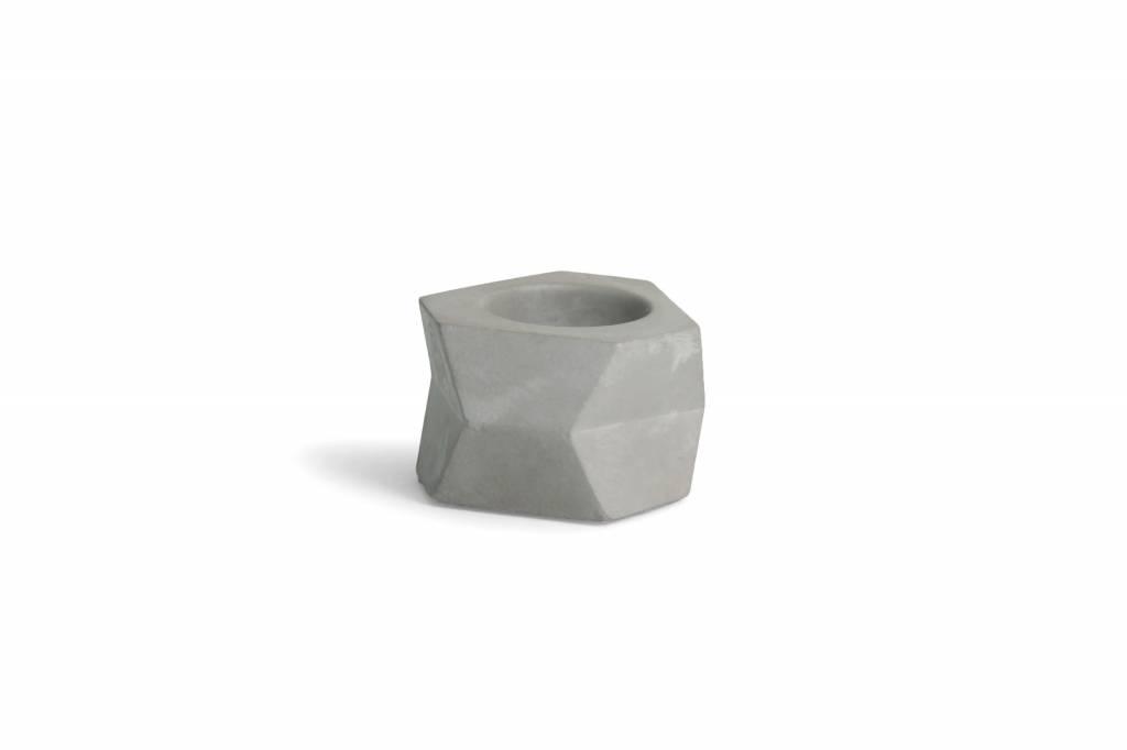 Atelier Pierre Facet T-Light natural light grey