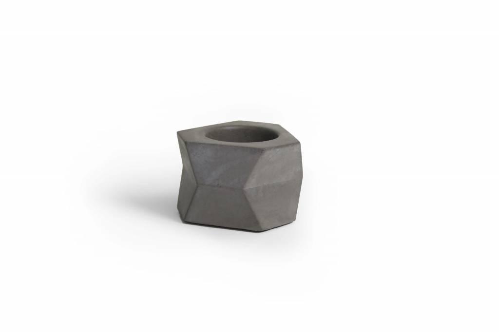 Atelier Pierre Facet T-Light natural dark grey