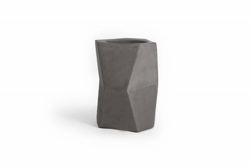 Atelier Pierre Facet wine cooler natural dark grey