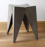 Lyon Béton Bridge stool concrete