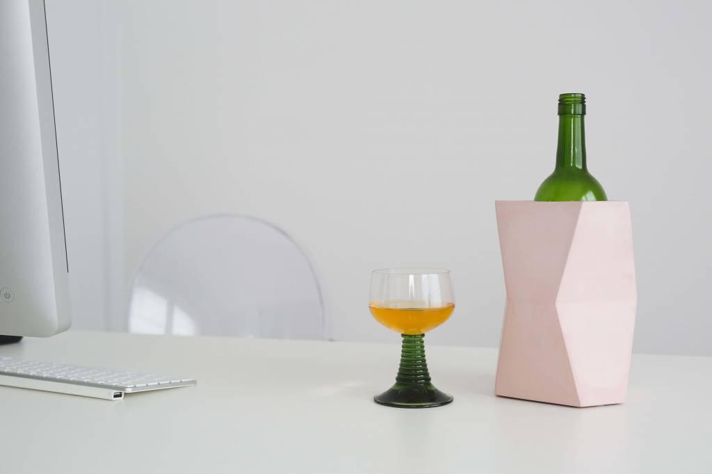 Atelier Pierre Facet wine cooler skin pink