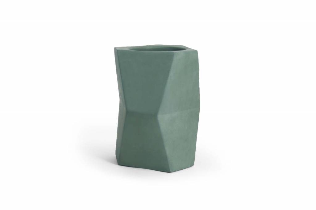 Atelier Pierre Facet wine cooler Forest green