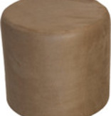 Dome Deco Poef rond Caramel
