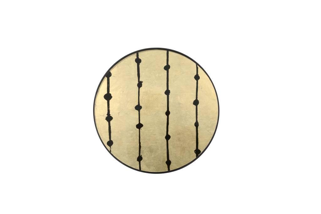 Notre monde Dienblad klein Brown Dots
