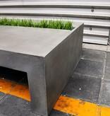 Lyon Béton Green rectangular Coffee table