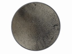 Notre monde Ronde spiegel 92 cm - Verouderd brons