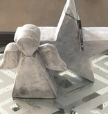 J-Line Ster beton grijs