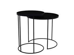 Notre monde Side table set of 2