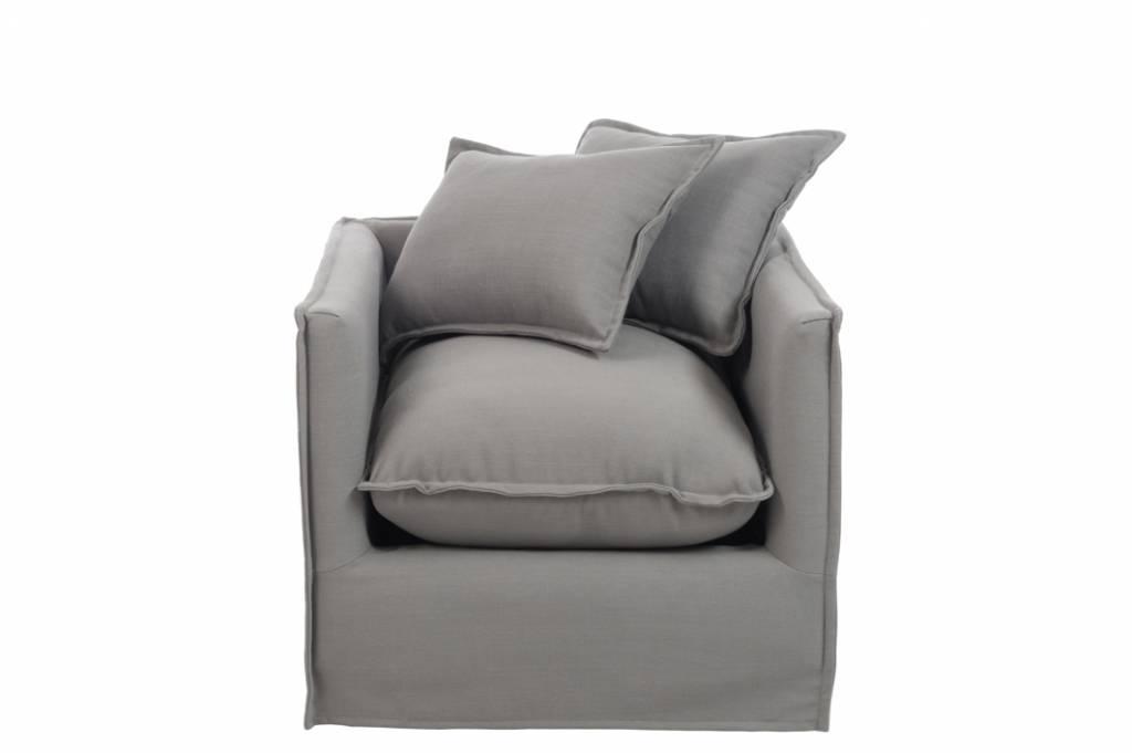 J-Line Sofa Alex linnen grey - Copy