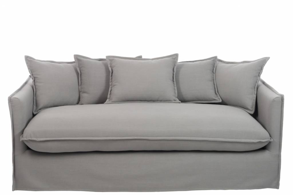 J-Line Sofa Alex linnen grey