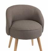 J-Line Chair Celine grey-beige