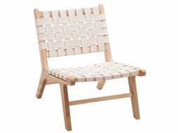 J-Line Chair Ethnic white