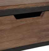 J-Line Rek laden hout metaal