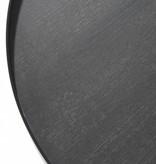 J-Line Bijzettafel Zwart bruin -Medium