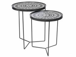 J-Line Nesting tables Boho