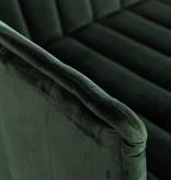 J-Line Green chair Velvet 1p