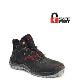 Safe Feet PSL Aligator Black S3 - Sicherheitsschuh