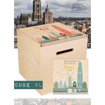 Herinner-Dingen-Doos skyline Utrecht