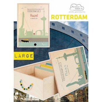 Herinner-Dingen-Doos Skyline Rotterdam