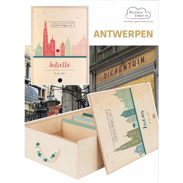 Herinner-Dingen-Doos Skyline Antwerpen