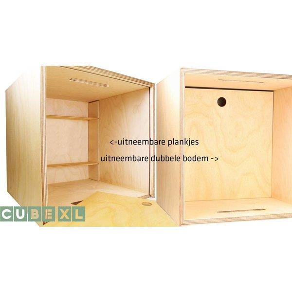 Herinner-Dingen-Doos Eigen Ontwerp XL Cube, GRATIS hulp, proefdruk