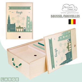 Herinner-Dingen-Doos Skyline Brussel / Bruxelles