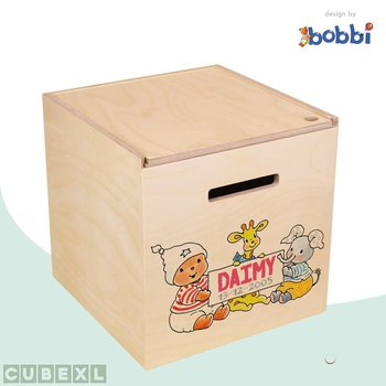 Herinner-Dingen-Doos Bobbi en vriendjes naambord