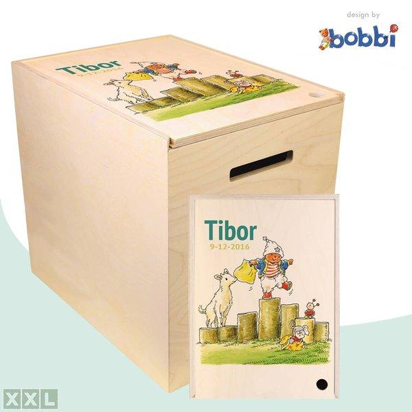 Herinner-Dingen-Doos Bobbi op de kinderboerderij