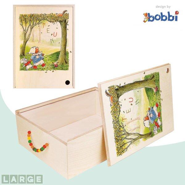 Herinner-Dingen-Doos Bobbi en vriendjes in Herfstbos