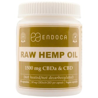 Endoca CBD Capsules Raw 15%