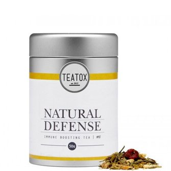 Teatox Natural Defense Bio Green Tea Ginger 50g