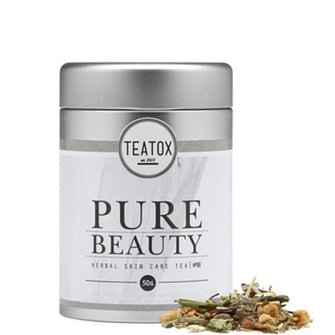 Teatox Pure Beauty Bio White Tea Ananas 50g