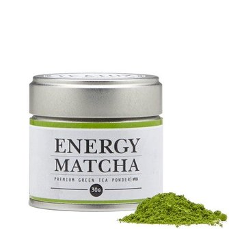 Teatox Energy Matcha Bio Green Tea Powder 30g