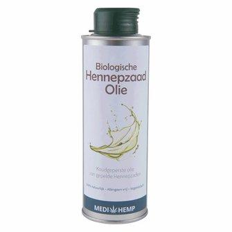 Biologische Hennepzaadolie (MediHemp)
