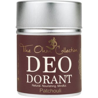 The Ohm Collection Deo Dorant Poeder Patchouli