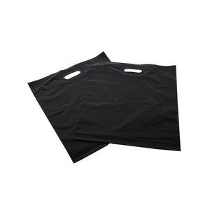 Plastic tas 35x44+2x4 cm / per 500 stuks