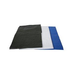 Bouwhekzeil 1,76x3,41 meter zwart