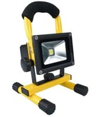 SalesBridges 10W LED Worklamp Floodlight with Battery Waterproof (IP65)