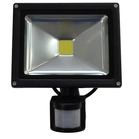 SalesBridges 20W LED Floodlight with PIR Sensor IP65 Construction Lamp