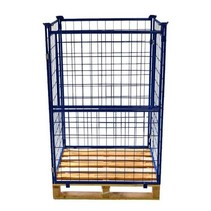 Cage Container steel H1600mm folding window